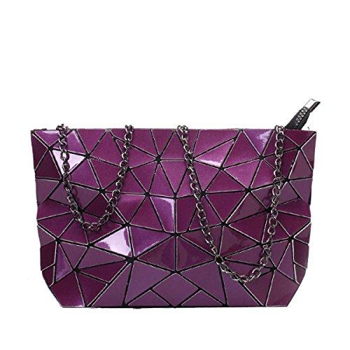 Kupplung Der Einfach Luxus Purple Arbeiten Paket Frauen Schulterbeutel TtfOw8qx8