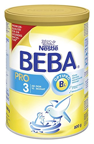 Preisvergleich Produktbild BEBA PRO 3 Folgemilch - nach dem 10. Monat, 4er Pack (4 x 800g)