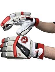ND suave rellenar prueba calidad Platinum Serie guantes de bateo de cricket adulto derecha o izquierda), multicolor