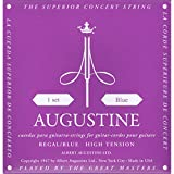 Augustine Klassik Gitarrensaiten Regals Label Satz Blue Extra High Tension/Bassaiten High Tension
