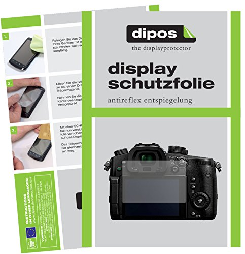 dipos I 6X Schutzfolie matt passend für Panasonic Lumix DMC-GH5 Folie Displayschutzfolie