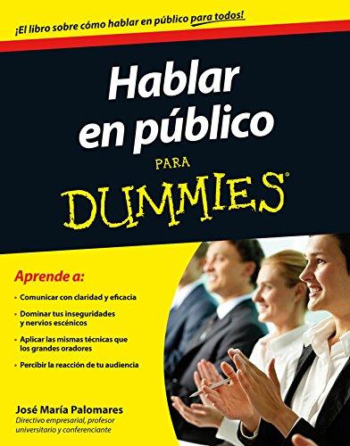 Descargas de libros gratis Hablar en público para Dummies ePub