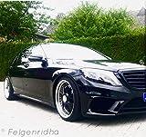 G&B Design Cj1 Crownjewel 20 Zoll Alufelgen(2x9jx20 und 2x11jx20) für Mercedes 216,218,219,230,221,220 und Audi
