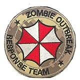 Cobra Tactical Solutions Camo Patch Resident Evil Zombie Outbreak * Response Team con Velcro (digital camo)