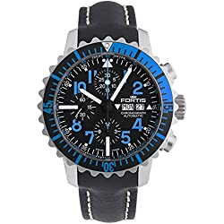 Fortis Aquatis Navy Master Chronograph Blue 671.15.45 Groovy
