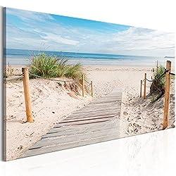Glasbild Kr/äuter mit Beschriftung Wandbild Dekoration Glas Querformat 40x60 cm