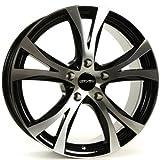 CARMANI 09 Compete black polish 6,5x16 ET45 5.00x114 Hub Bore 72.60 mm - Alu felgen
