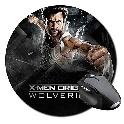 X-Men Origins Wolverine Hugh Jackman Lobezno B Alfombrilla Redonda Round Mousepad PC