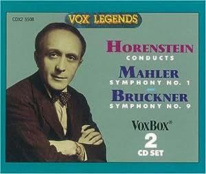 Mahler Symphony No. 1, Bruckner Symphony No. 9 (Original version)