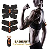 BASHERRY Bauchmuskel Stimulator, ABS Trainer, Body Toning Fitness Muskelaufbau...