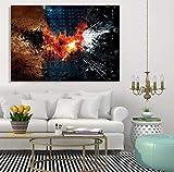 Knncch 1 Pcs/Set Encadré Hd Imprimé Batman Film Mur Art Toile Photos Pour Salon Chambre Décor À La Maison Peinture,40X60Cm