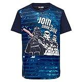 LEGO Jungen T-Shirt Lego Boy Star Wars CM-50228-T-SHIRT, Blau (Dark Navy 590), Herstellergröße: 104