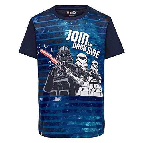 LEGO Jungen T-Shirt Lego Boy Star Wars CM-50228-T-SHIRT, Blau (Dark Navy 590), Herstellergröße: 116 - Kids Star Für Wars