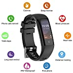 Smartwatch Fitness Tracker Yakuin Smart Watch Wearables Sport Smart Wristband G16 Waterproof Activity Tracker Colorful Touch Screen With Heart Rate MonitoringBlood PressureSleep MonitorCalorie BurnedR