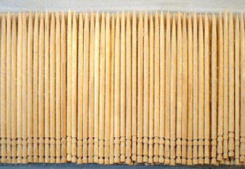 IMS Party 302750 Zahnstocher, gedrechselt, Holz, 2 x 65 mm, 500 Stück/Box