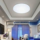 VGO® 12W LED Plafoniera Bianco Moderna Round Cielo Stellato Lampada da Interno Lampada da Soffitto a Soffitto Apparecchio Lampada da Bagno Soggiorno Camera da letto Sala da Pranzo Lampade Distintivo Design Classe energetica A ++