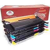 Toner Kingdom 4 Paquete Compatible Cartucho de tóner Para Samsung CLT-P4092C CLT-K4092S CLT-C4092S CLT-Y4092S CLT-M4092S CLP-310 CLP-310N CLP-315 CLP-315W CLX-3175 CLX-3175FN CLX-3175FW CLX-3175N Impresora (1 Negro, 1 Cian,1 Magenta,1 Amarillo)