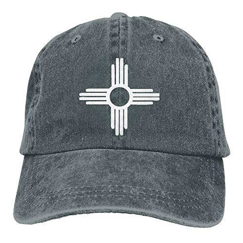 Nizefuture Zia Symbol Vintage Adjustable Cowboy Hat Gym Caps for Adult