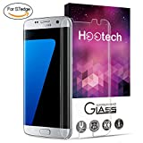 Samsung Galaxy S7 edge Panzerglas Schutzfolie, Hootech [1 Stück] Displayschutzfolie für Samsung Galaxy S7 edge Panzerfolie Displayschutz Gehärtetem Glass 9H Härtegrad, Anti-Kratzen, Einfaches Anbringen