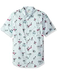 Billabong Men's Sundays Floral Short Sleeve Top