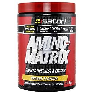 ISATORI AMINO MATRIX 214,5 GR Arancia - 51we5hVnfzL. SS315