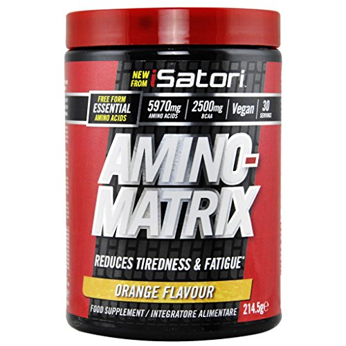 ISATORI AMINO MATRIX 214,5 GR Arancia - 51we5hVnfzL