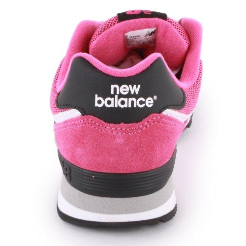 New Balance KL574, Sneakers basses fille Rose