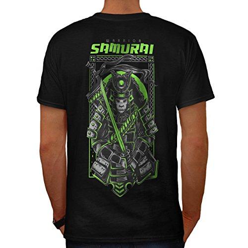 Weibliche Mörder Kostüme (Samurai Mörder Mode Herren M T-shirt Zurück |)
