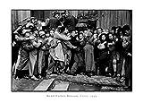 Gente - China 1949, Henri Cartier-Bresson Stampa D'Arte (70 x 50cm)