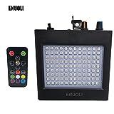 ENUOLI Ultra Bright RGB LED Strobe Lights 25W 108 LEDs Super Bright Mixed