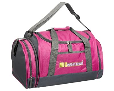 Ladies Pink Holdall Sports & Gym Cabin Bag By MIG - Sports School Travel