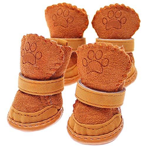 FliyeongNeue Nette Chihuahua-Hundeschuh-kleine Hundehaustier-Schuh-Welpen-Winter-warme Stiefel-Schuh-Qualität (Winter Neue Stiefel)