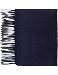 100% Pure Cashmere Plain Scarf by Lona Scott
