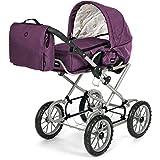 Brio 24891398 BRIO Puppenwagen Combi, violett (incl.Tasche) limitiert