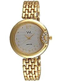 Watch Me Analogue White Dial Women's & Girl's Watch - Wmal-307-G