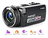 Camcorder Videokamera Full HD 1080p Digitalkamera