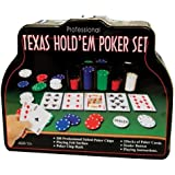 Professional - Set de póker texas hold'em - 206 piezas