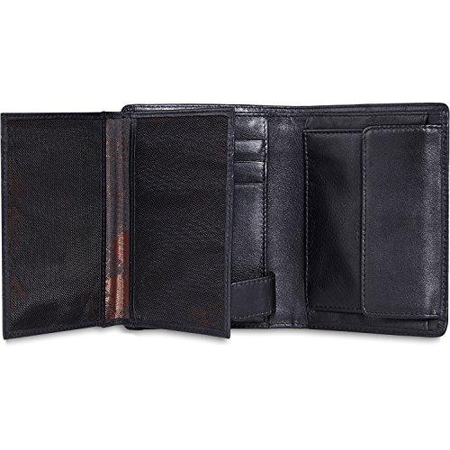 Picard Brooklyn portafoglio pelle 12 cm nero