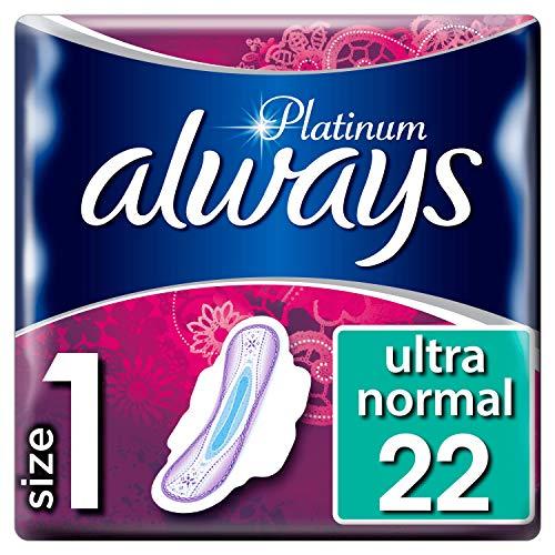 Always Platinum normal T1Compresas plumas 22--Juego