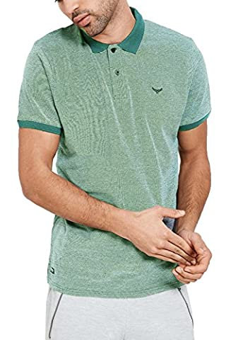 Threadbare - Polo - Chemise - Uni - Homme vert Green Small - vert - XX-Large