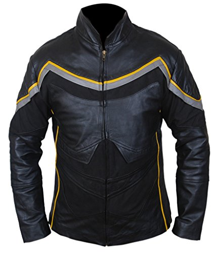 F&H Men's John Hancock Will Smith Genuine Leather Jacket