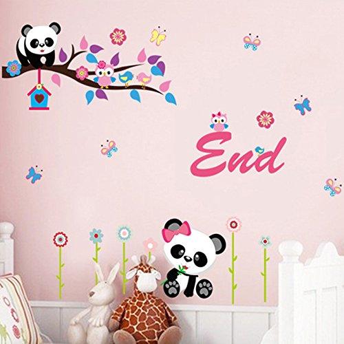 hiboux-pandas-fleurs-papillons-maison-maison-pvc-autocollant-mural-decoration-papier-papier-peint-en