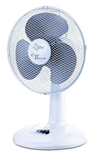 SUNTEC Tischventilator CoolBreeze 3.000 TV [30 cm Flügel-Ø, 3 Stufen, oszillierend, 2 h Timer, 40 Watt] - Cool Ventilator Breeze