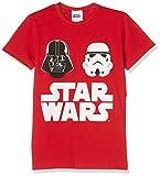 Star Wars HSW9518, T-Shirt Bambini e Ragazzi, Rosso, 128 (Taglia Produttore:XL)