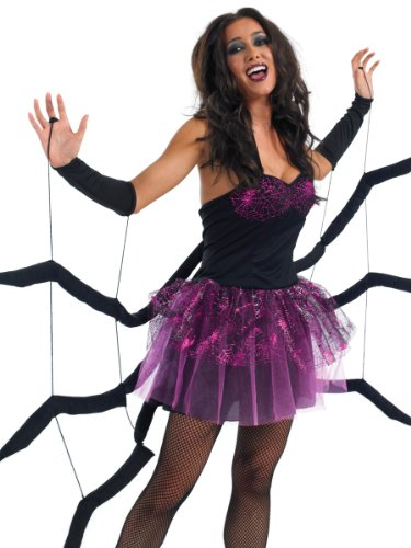 Fun Shack Damen Costume Kostüm, Womens Spider Dress, ()