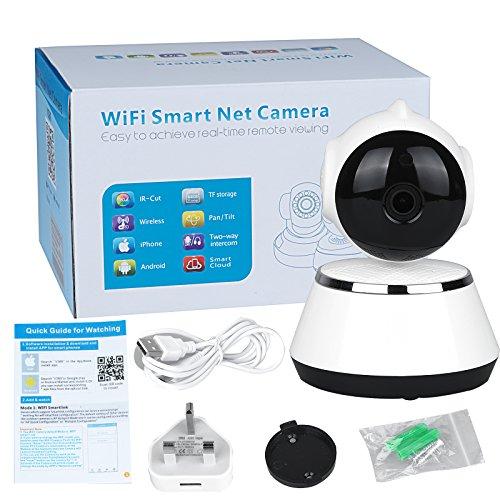 vinteky HD WiFi Smart net Kamera leicht zu erreichen Echtzeit-Fernüberwachung Maximale Unterstützung 64G TF Karte