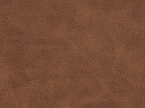 Kunstleder Vintage Farbe 3 (braun) - Kunstleder (Einfarbig, Uni), Polsterstoff, Stoff, Bezugsstoff, Eckbank, Couch, Sessel, Hussen, Kissen, Retro