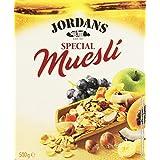 Jordans - Special Muesli - Cereales integrales - 500 g - [pack de 2]