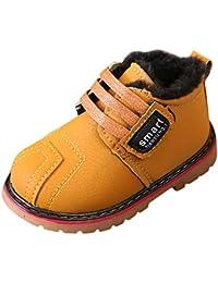 OHQ Martin Botas De Nieve NiñOs Bebe Chicas Invierno Zapatos Calientes Negro Blanco Rojo Gris Rosa Zapatillas De Deporte