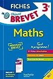 Objectif Brevet 3e - Fiches Détachables Maths - Nouveau programme 2016